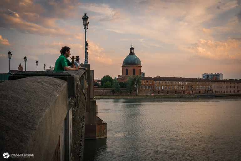 Toulouse - Fête de la musique - Pont Saint-Pierre
