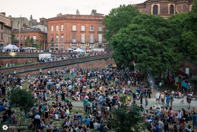 Toulouse - Fête de la musique - Place de la Daurade