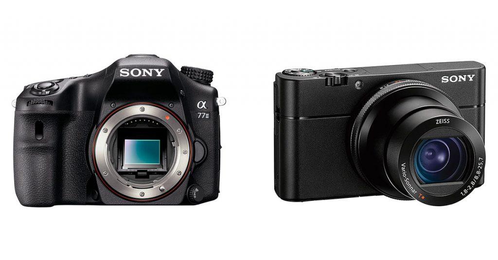 Différence entre un appareil de type reflex et un compact